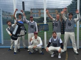 Warsaw Hussars Visits Surrey to Play Cage Cricket