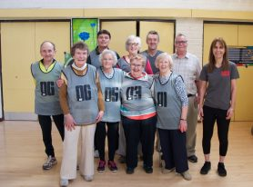 Surrey Seniors Love Cage Cricket